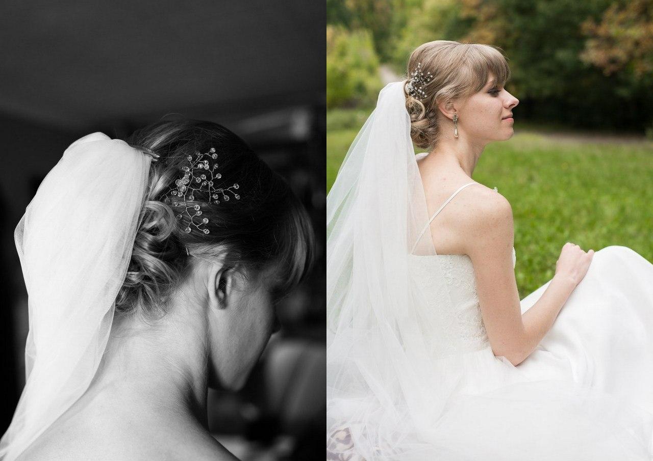 испортили свадебную прическу